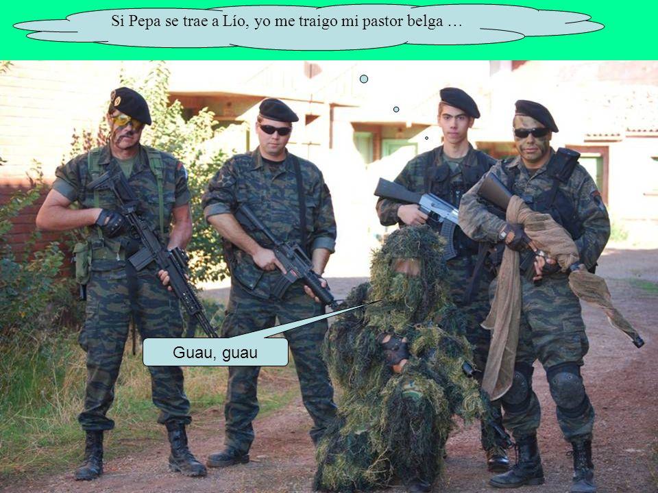 Si Pepa se trae a Lío, yo me traigo mi pastor belga …
