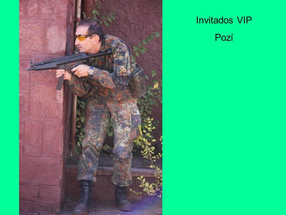 Invitados VIP Pozí