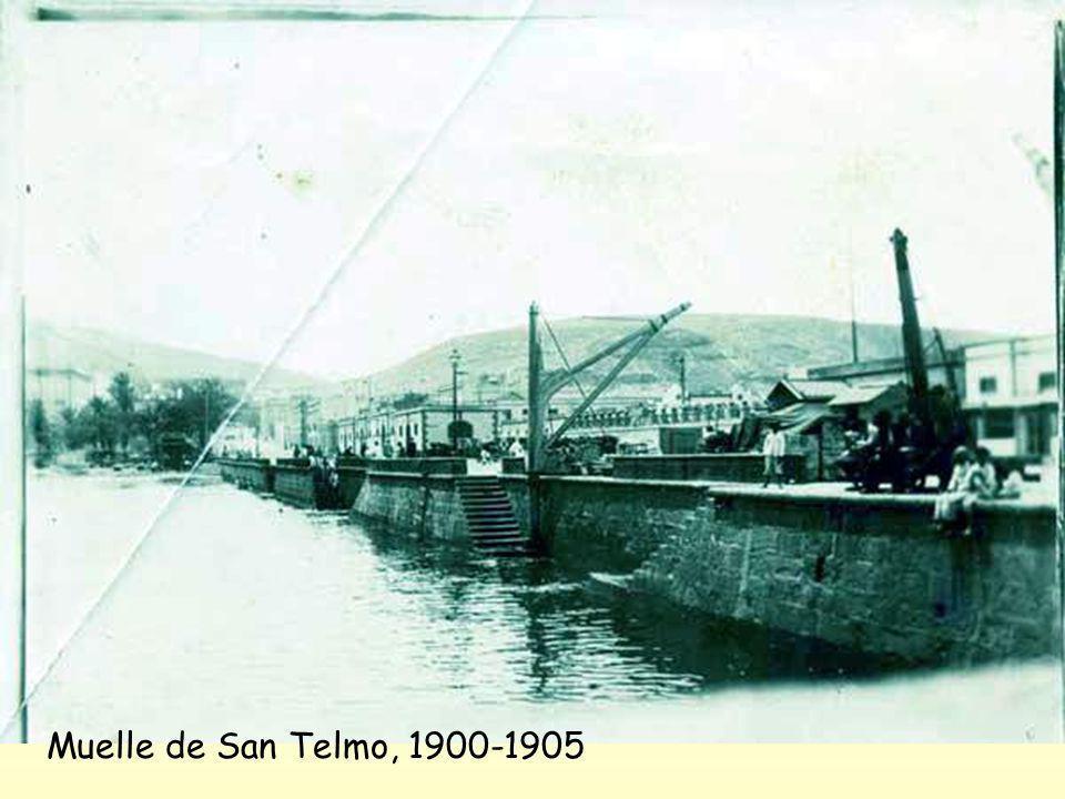 Muelle de San Telmo, 1900-1905
