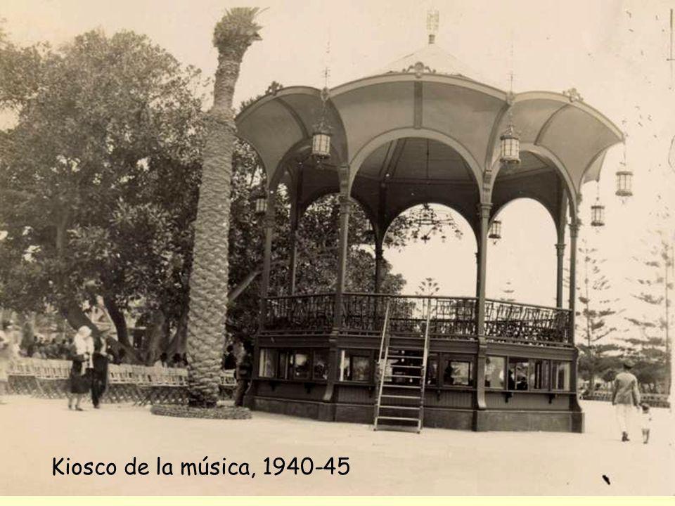 Kiosco de la música, 1940-45