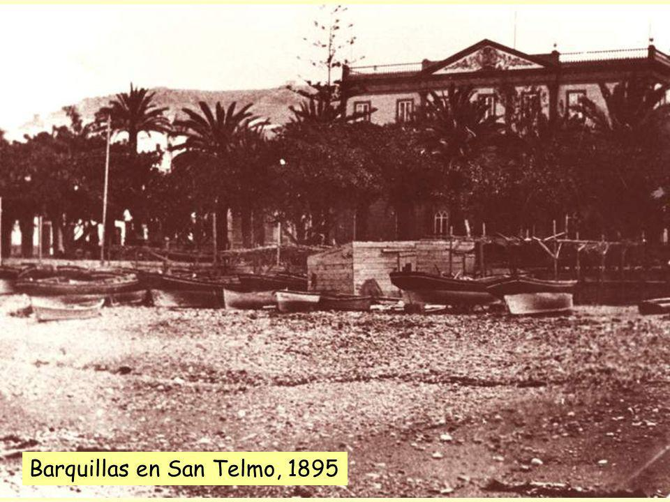 Barquillas en San Telmo, 1895