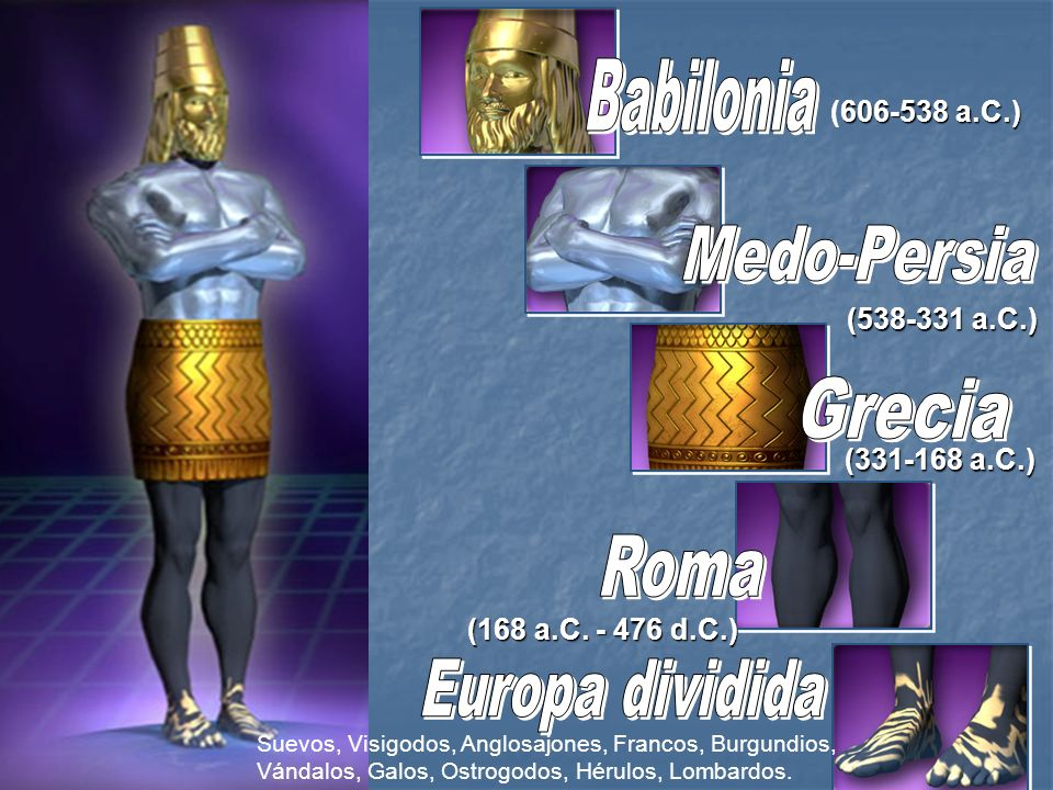 Babilonia Medo-Persia Grecia Roma Europa dividida (606-538 a.C.)