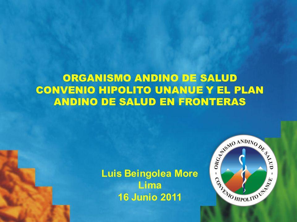 ORGANISMO ANDINO DE SALUD