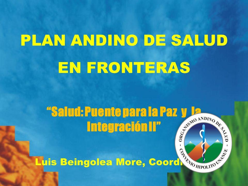 PLAN ANDINO DE SALUD EN FRONTERAS