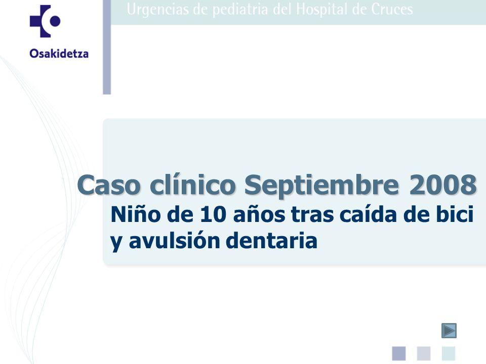 Caso clínico Septiembre 2008