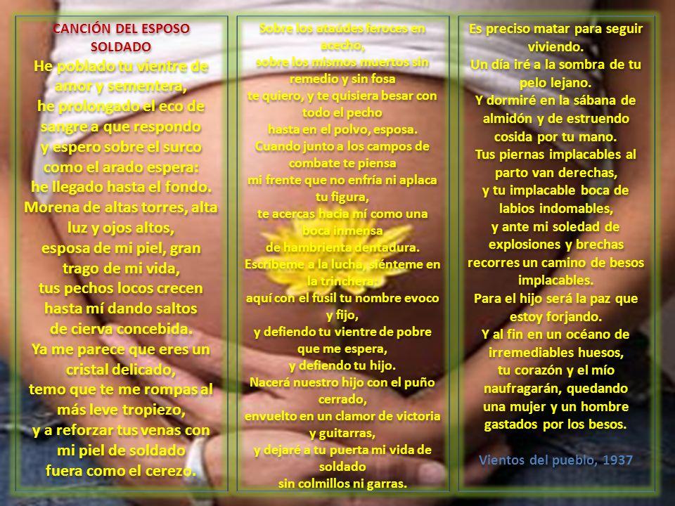 CANCIÓN DEL ESPOSO SOLDADO