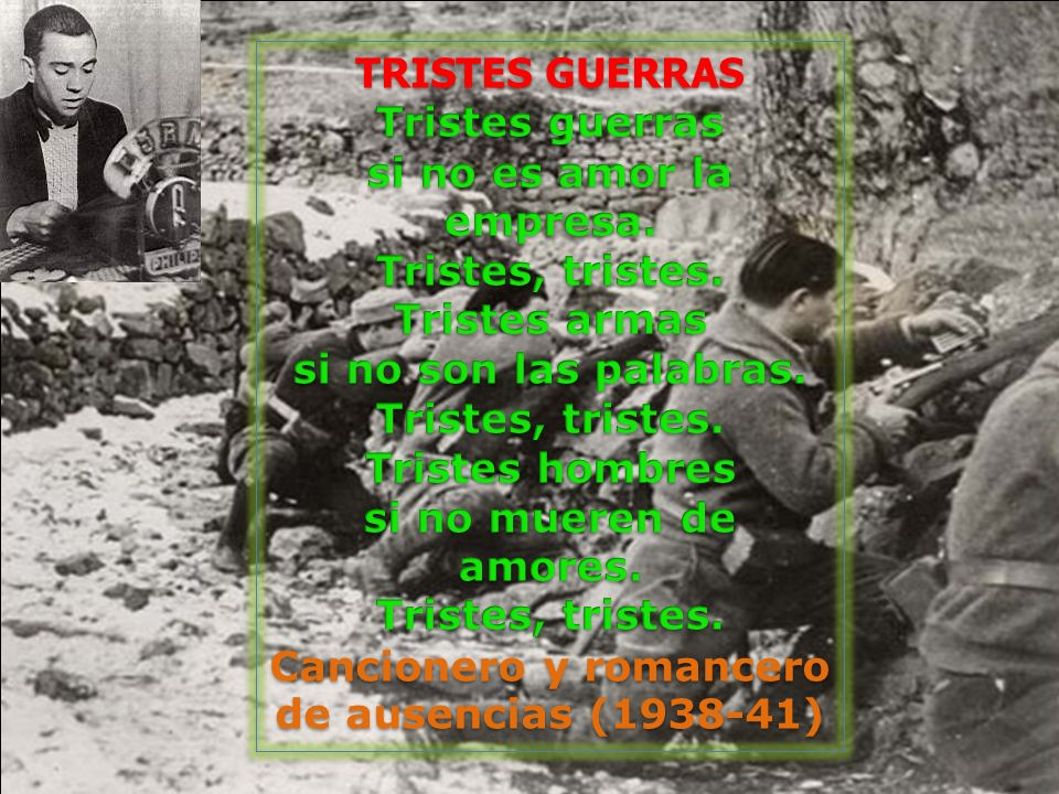 Cancionero y romancero de ausencias (1938-41)