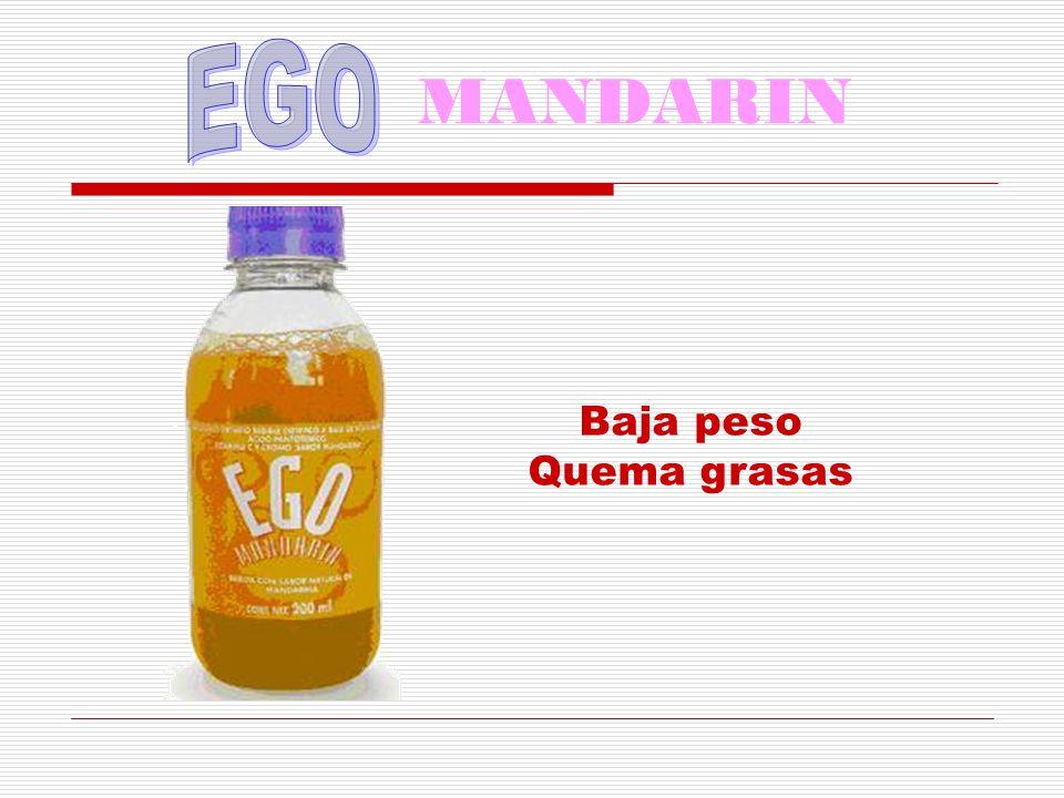 MANDARIN EGO Baja peso Quema grasas