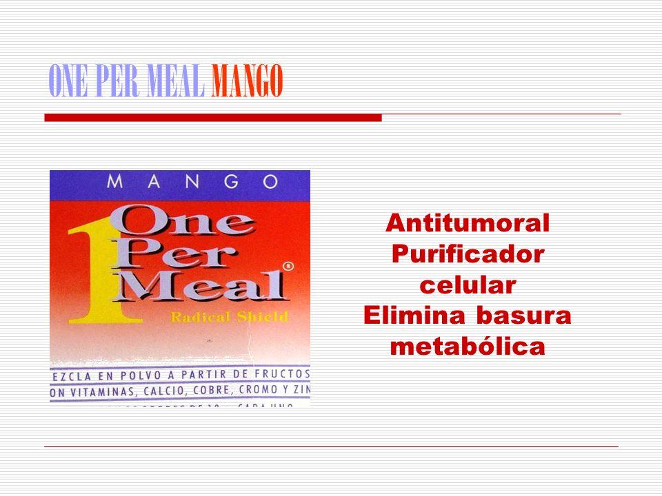 Elimina basura metabólica