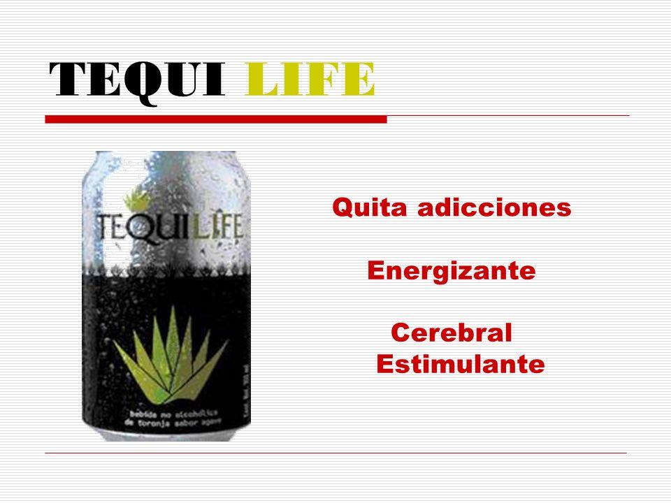 TEQUI LIFE Quita adicciones Energizante Cerebral Estimulante