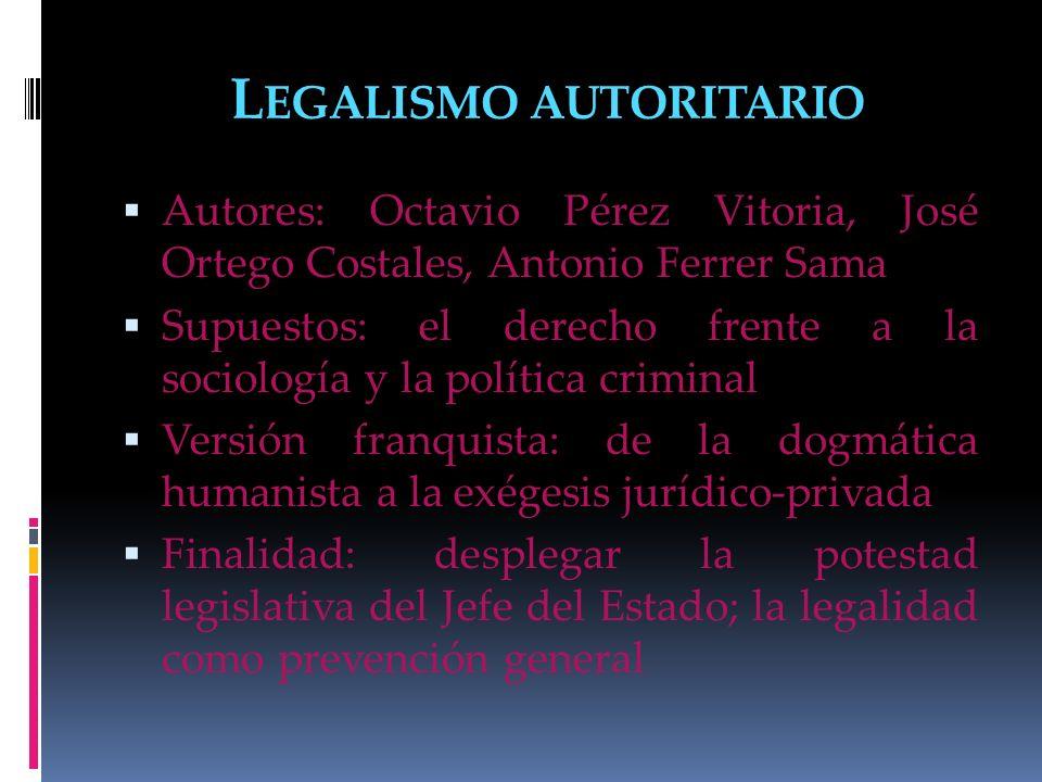 Legalismo autoritario