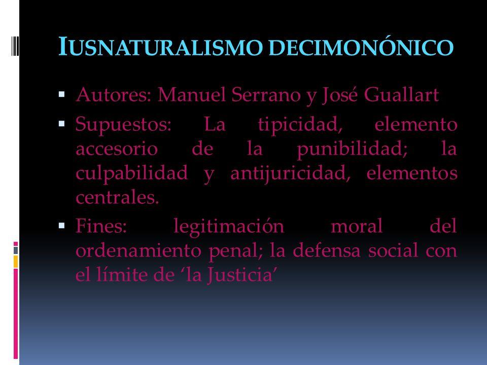 Iusnaturalismo decimonónico