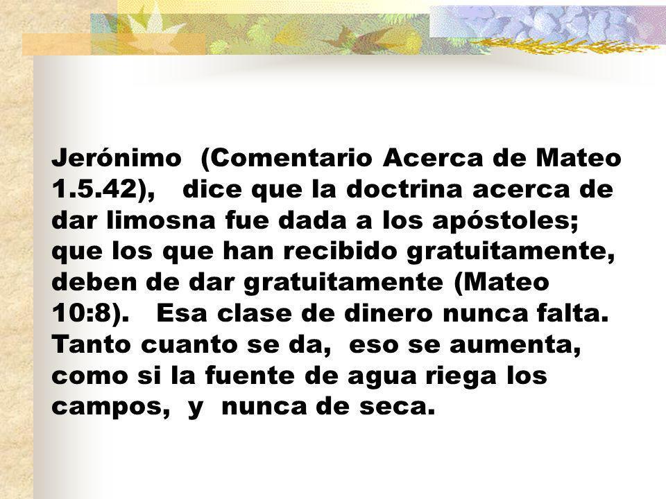 Jerónimo (Comentario Acerca de Mateo 1. 5