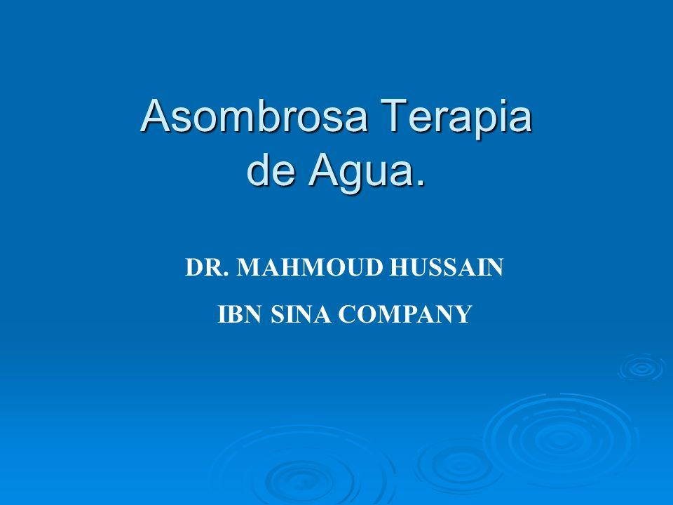 Asombrosa Terapia de Agua.