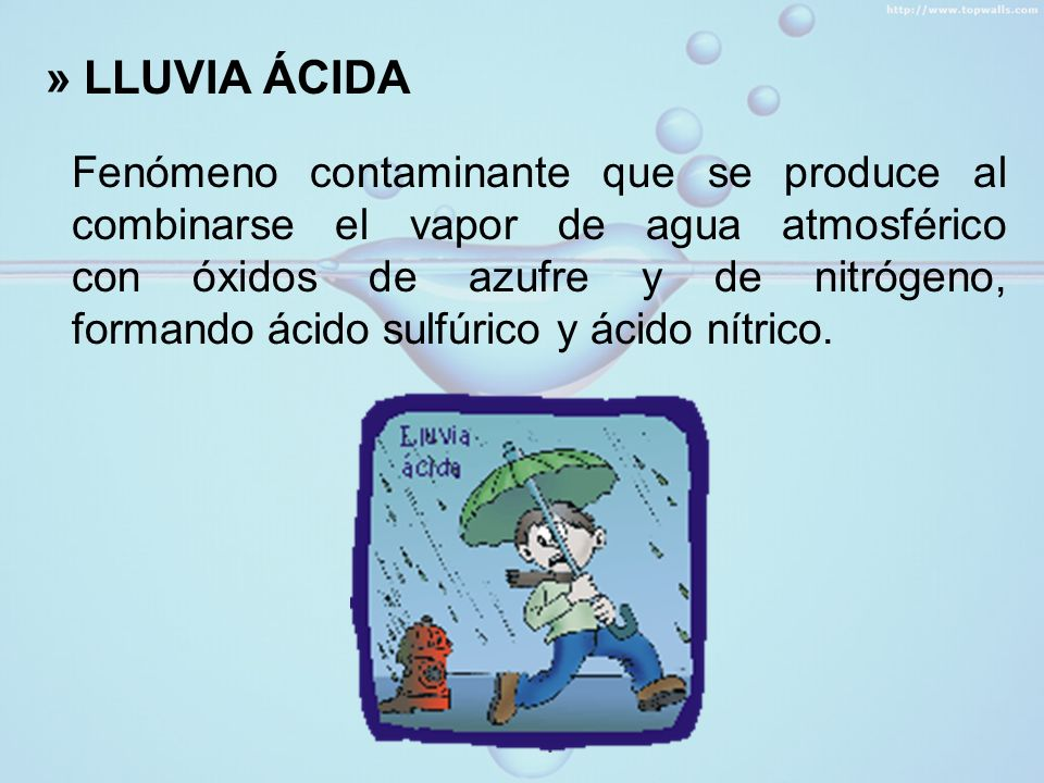 » LLUVIA ÁCIDA