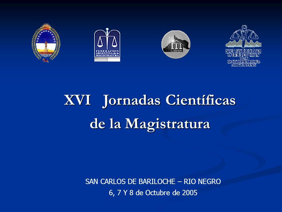 XVI Jornadas Científicas