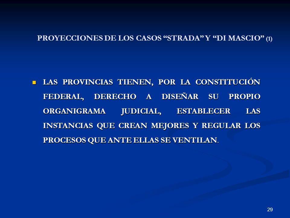 PROYECCIONES DE LOS CASOS STRADA Y DI MASCIO (1)