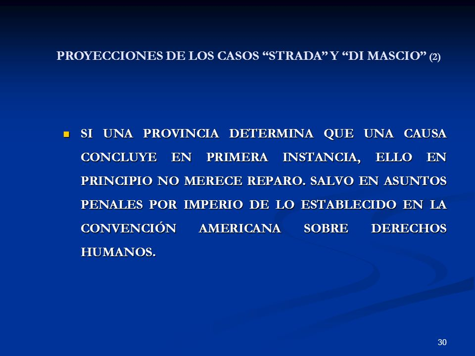 PROYECCIONES DE LOS CASOS STRADA Y DI MASCIO (2)