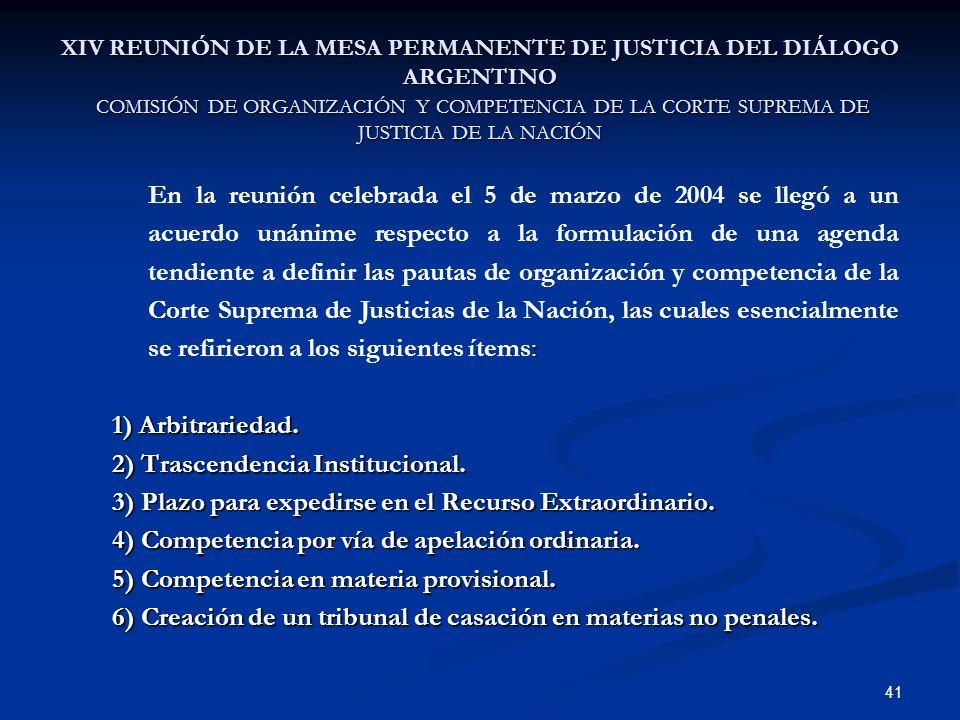 2) Trascendencia Institucional.