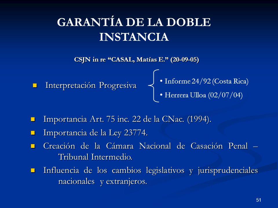 GARANTÍA DE LA DOBLE INSTANCIA