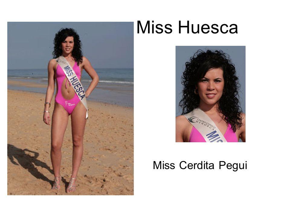 Miss Huesca Miss Cerdita Pegui