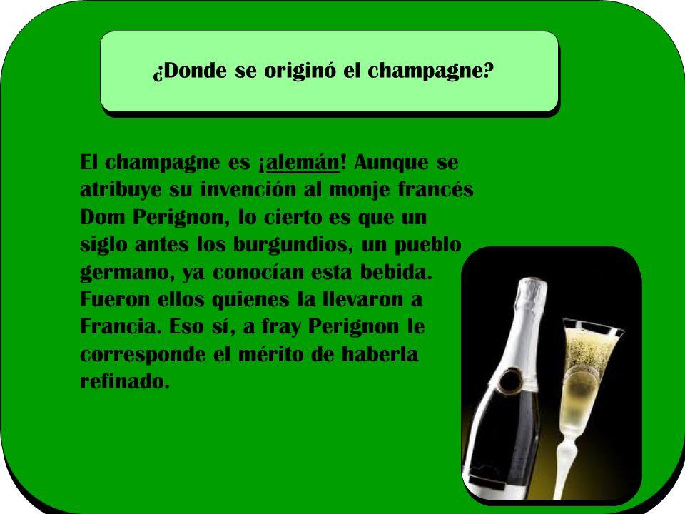 ¿Donde se originó el champagne