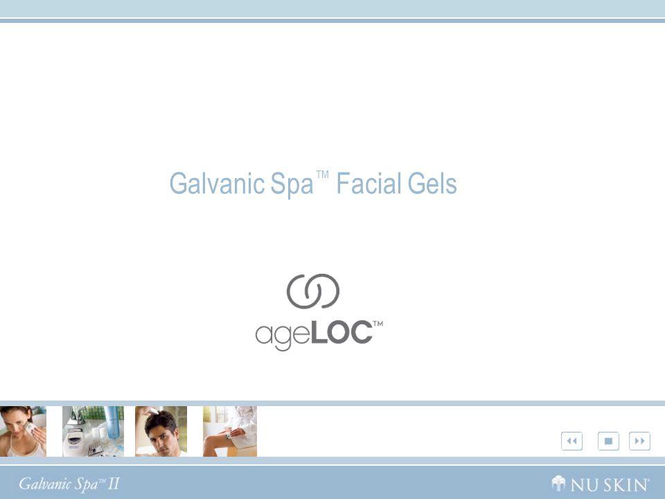 Galvanic Spa™ Facial Gels