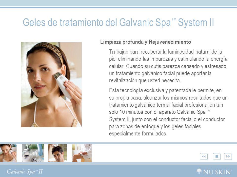 Geles de tratamiento del Galvanic Spa™ System II