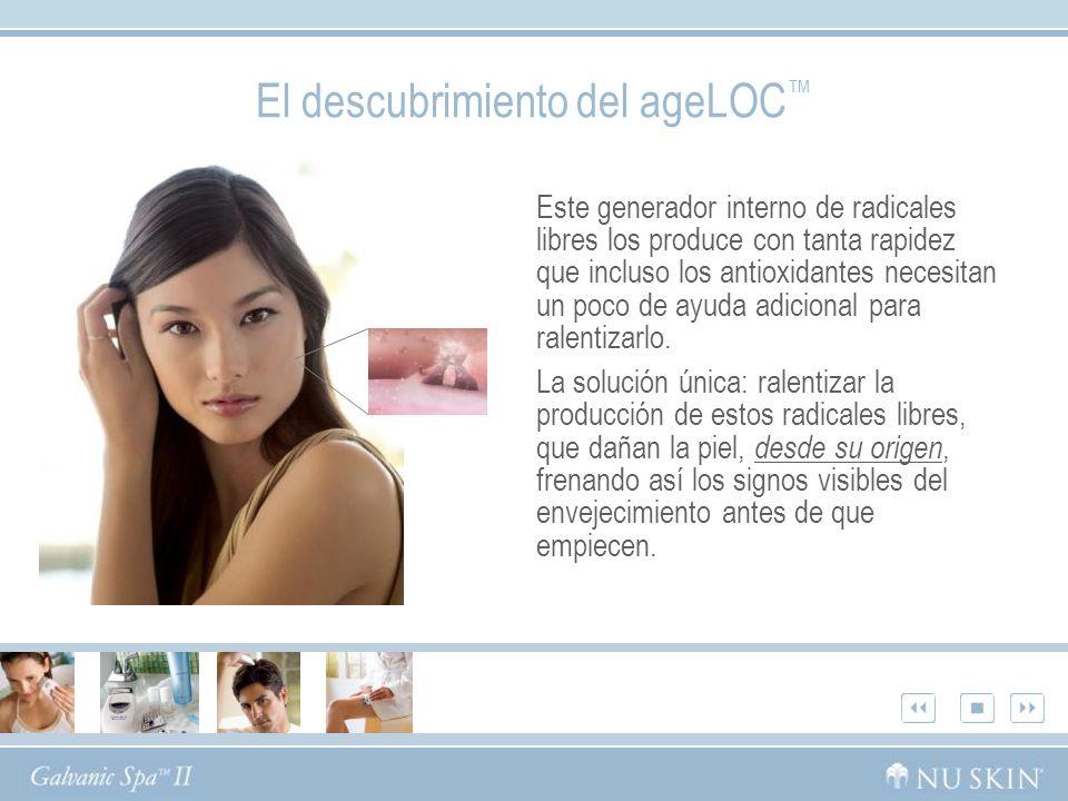 El descubrimiento del ageLOC™