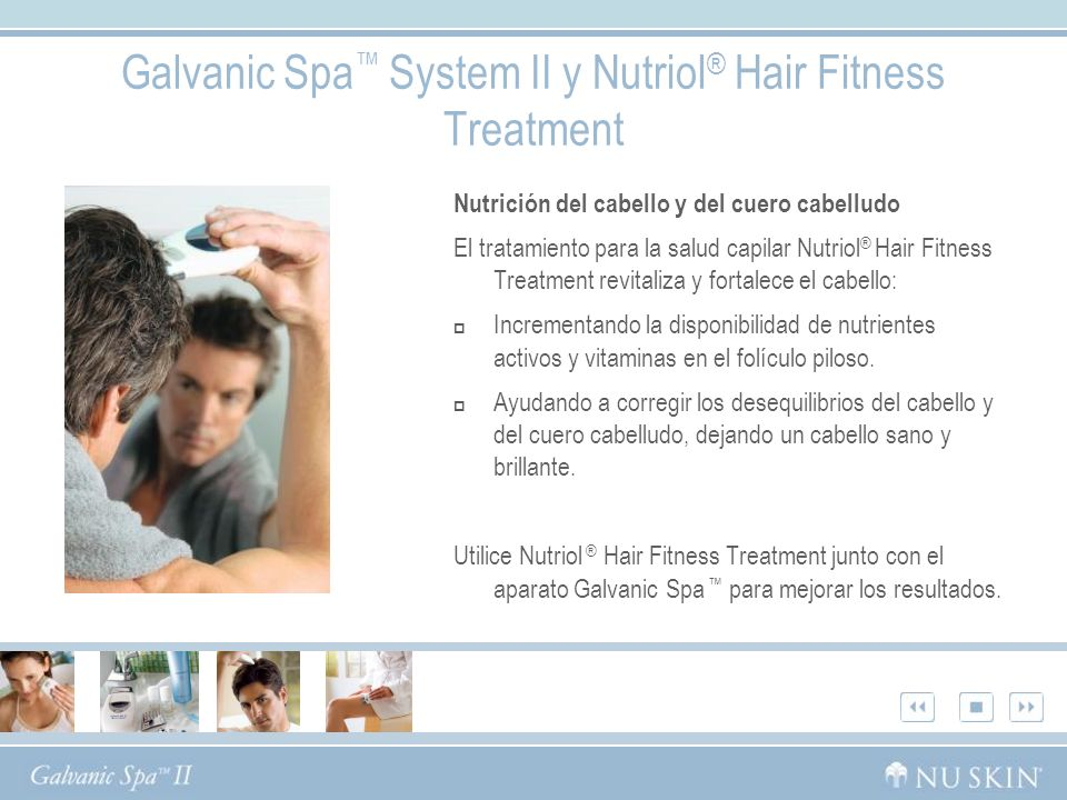 Galvanic Spa™ System II y Nutriol® Hair Fitness Treatment