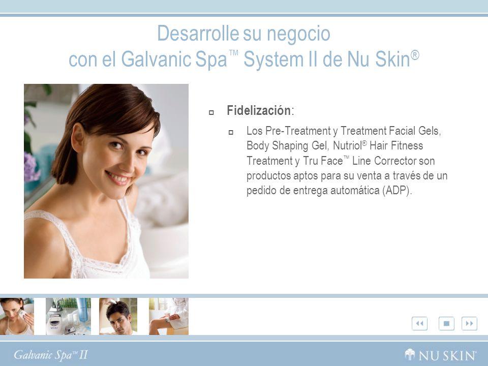 Desarrolle su negocio con el Galvanic Spa™ System II de Nu Skin®