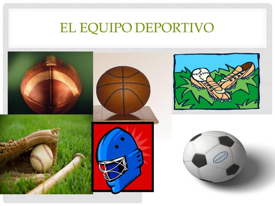 El equipo deportivo