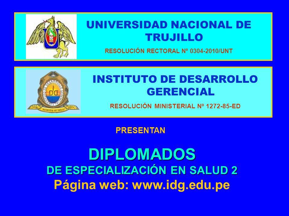 DIPLOMADOS DE ESPECIALIZACIÓN EN SALUD 2