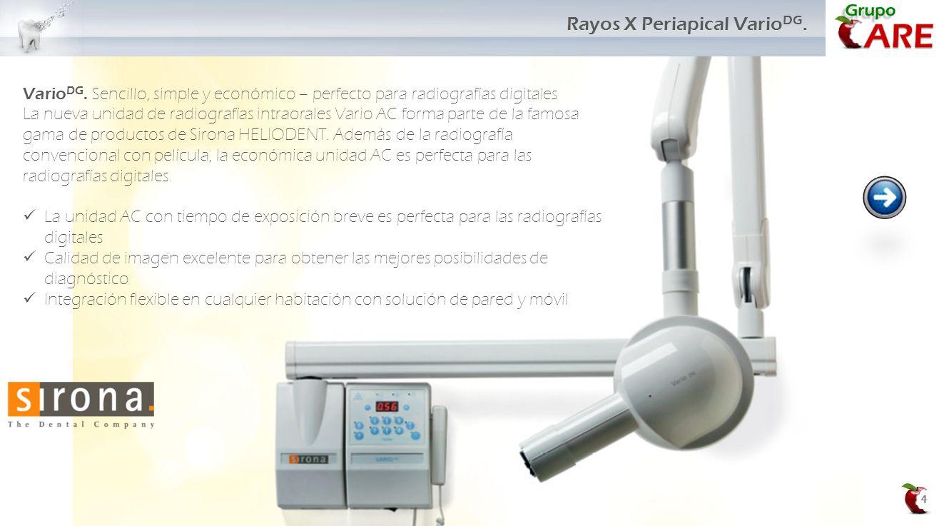 Rayos X Periapical VarioDG.
