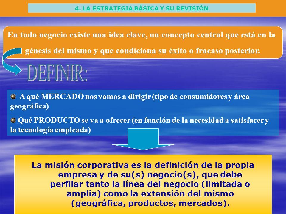 4. LA ESTRATEGIA BÁSICA Y SU REVISIÓN