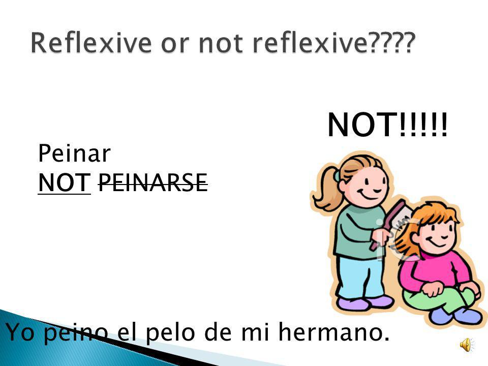 Reflexive or not reflexive