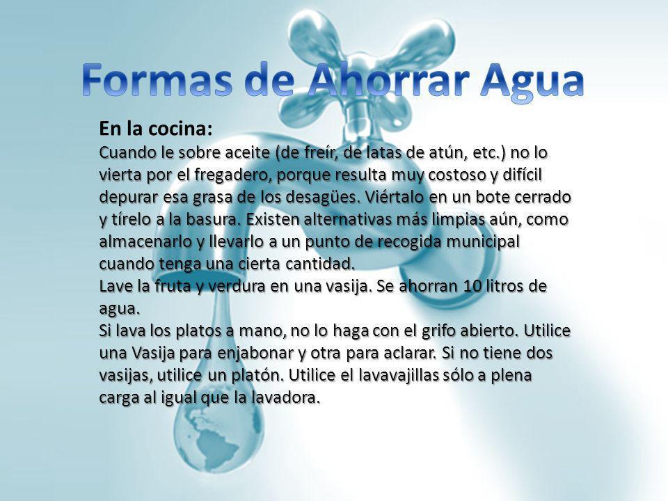 El agua tu fuente de vida ppt descargar for Maneras para ahorrar agua