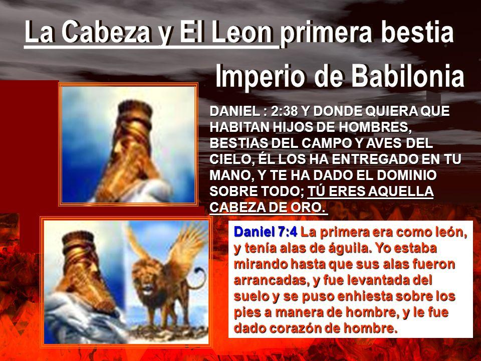 La Cabeza y El Leon primera bestia