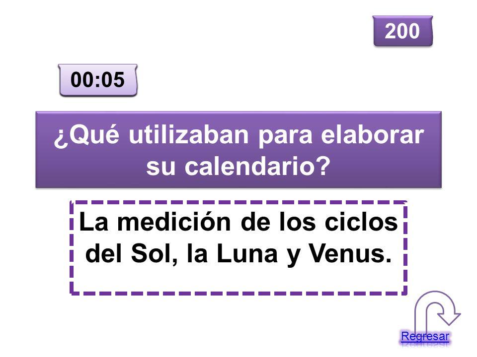 ¿Qué utilizaban para elaborar su calendario