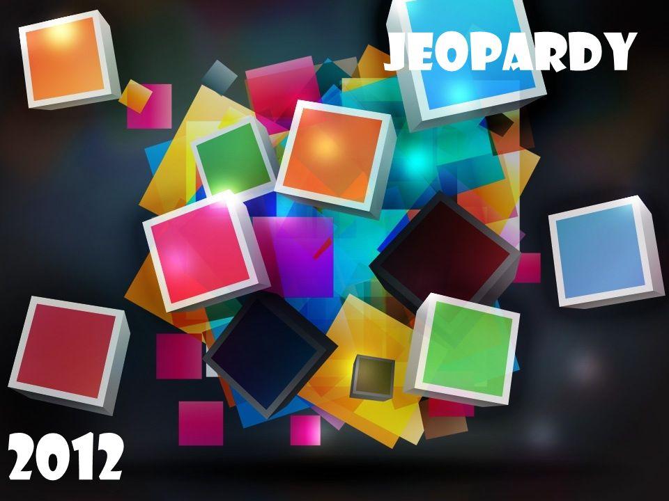 Jeopardy Jeopardy 2011 2012