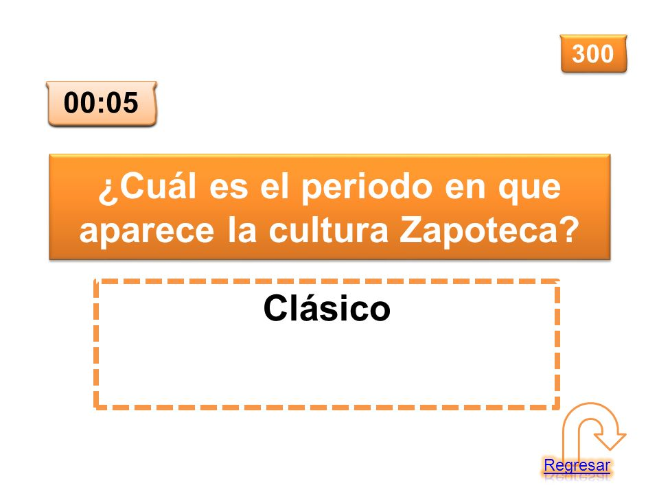¿Cuál es el periodo en que aparece la cultura Zapoteca