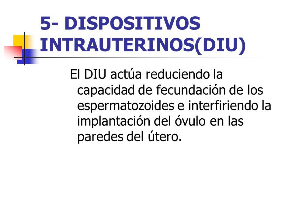5- DISPOSITIVOS INTRAUTERINOS(DIU)