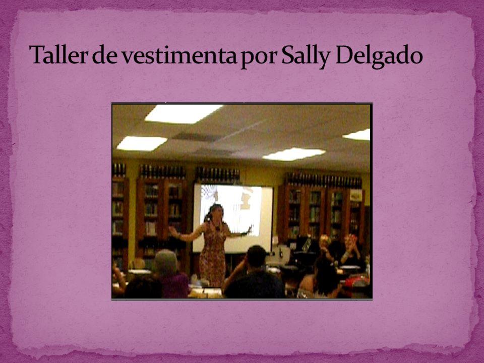 Taller de vestimenta por Sally Delgado