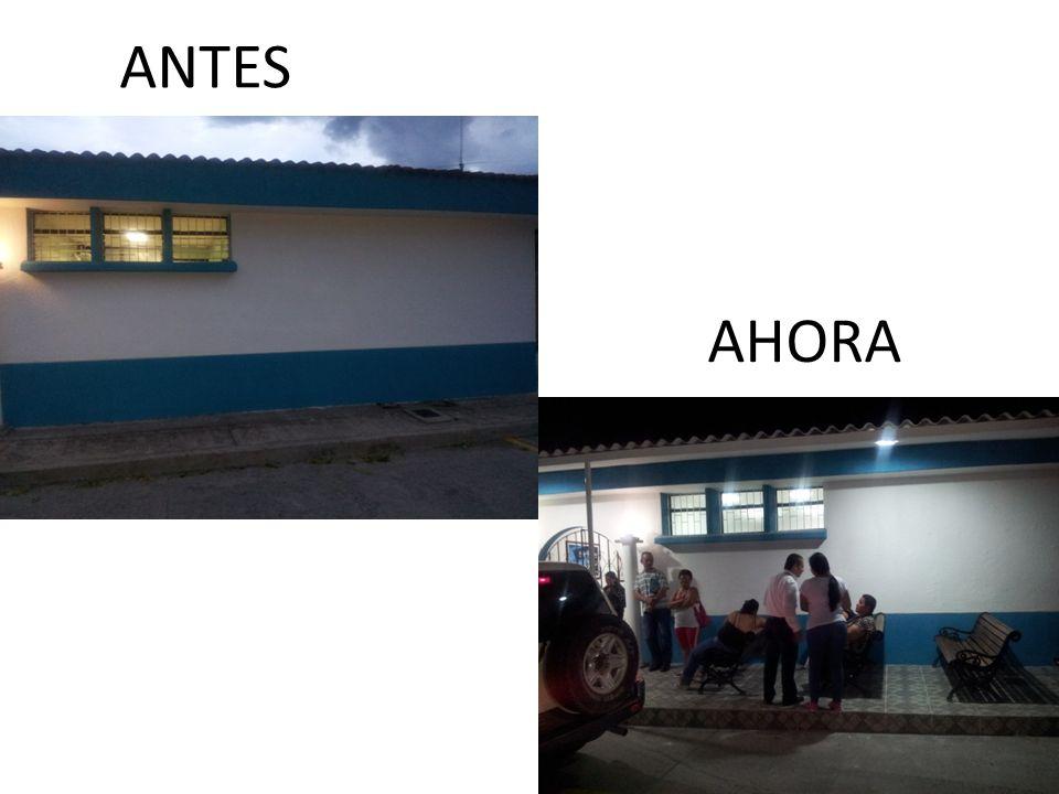 ANTES AHORA