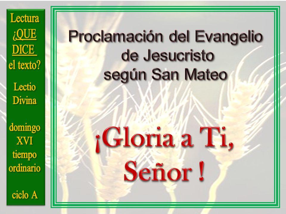 Proclamación del Evangelio