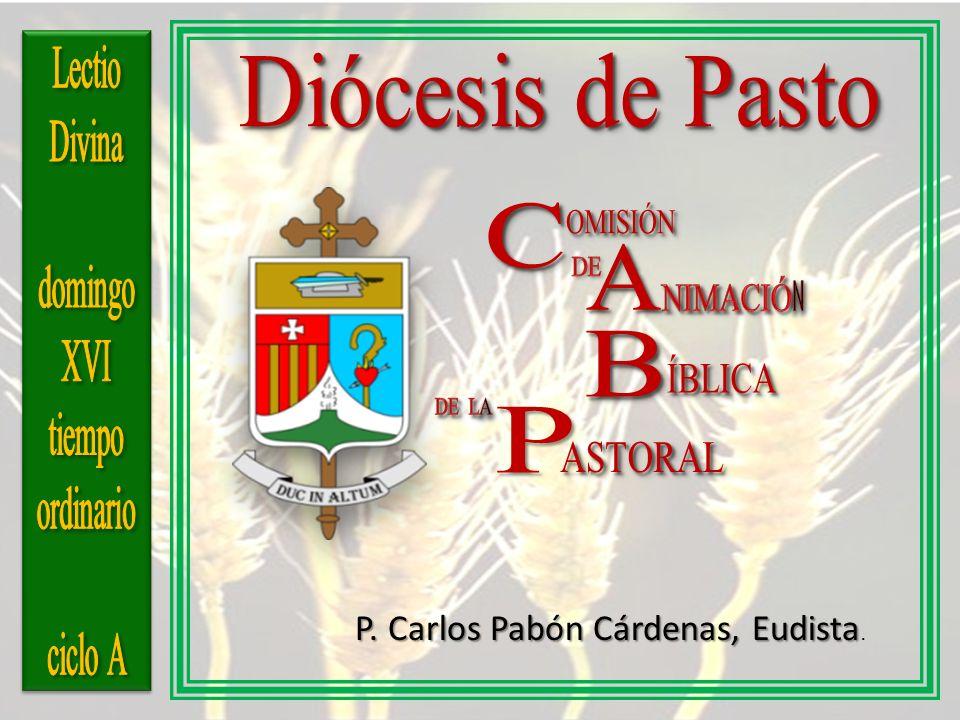 Diócesis de Pasto C A B P Lectio Divina domingo XVI tiempo ordinario