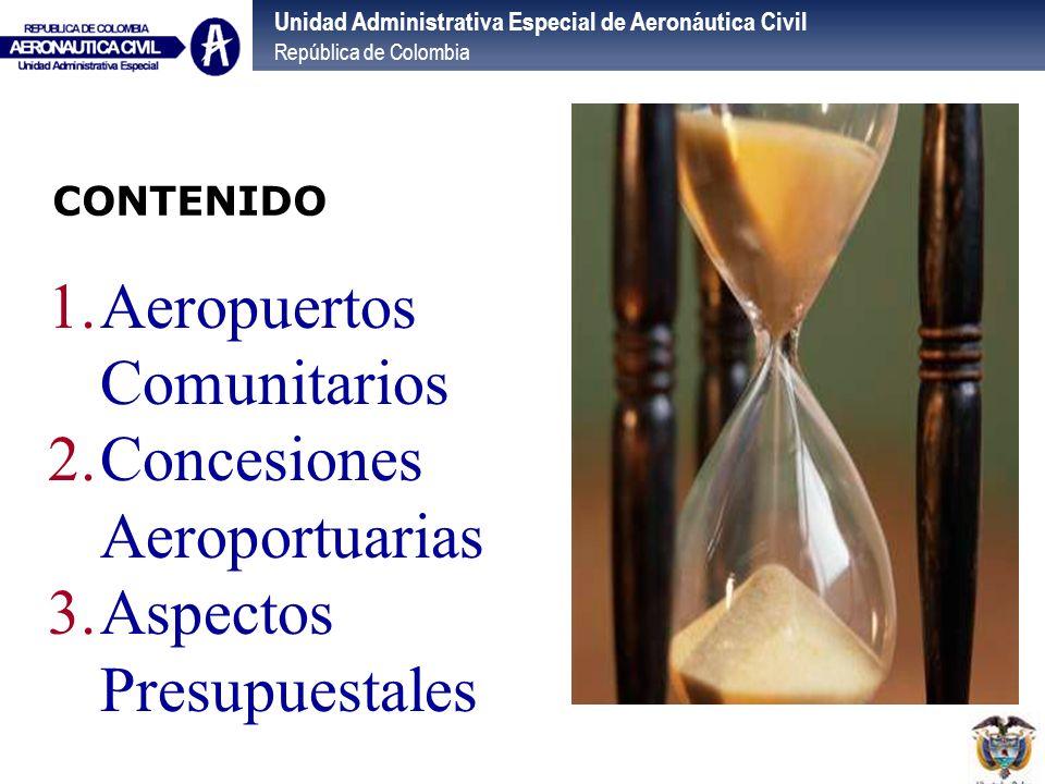 Aeropuertos Comunitarios Concesiones Aeroportuarias