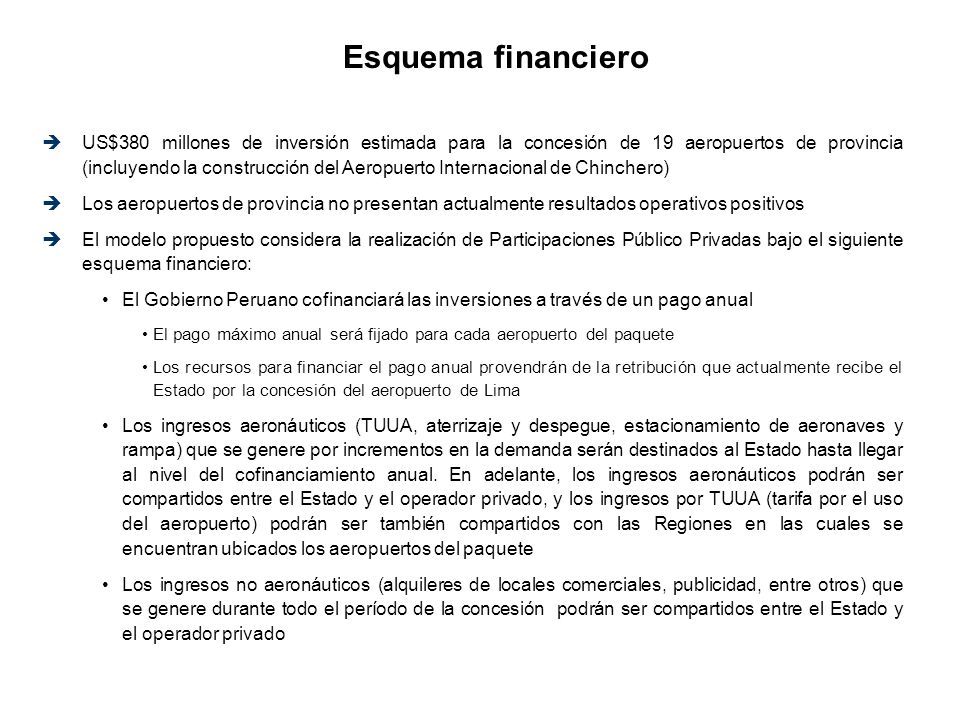 Esquema financiero