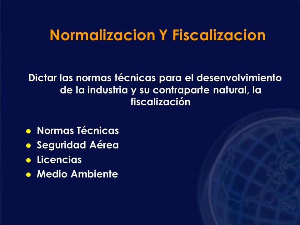 Normalizacion Y Fiscalizacion