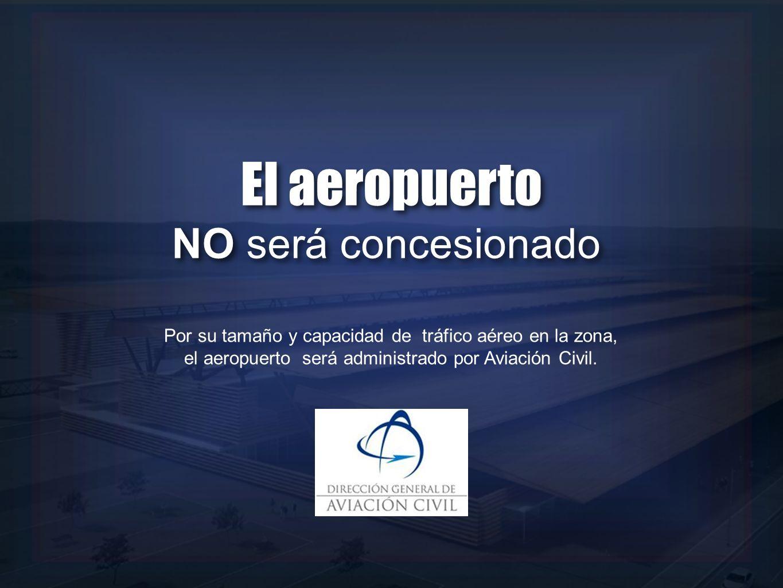 El aeropuerto NO será concesionado
